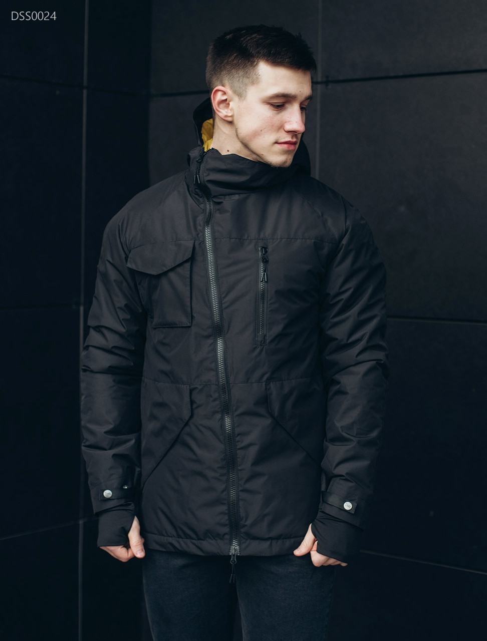3e4b520f81e Куртка Staff black asymmetry - Интернет магазин Babuza в Черновцах