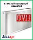 Сталевий радіатор Ovi Therm 22 тип 500*1600 бокове підключення, фото 2
