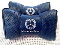 Підголовник (подушка) MERCEDES BENZ BLUE