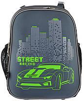"""Рюкзак школьный каркасный  «YES» """"Street Rasing"""" H-12 арт.555966, фото 2"""