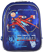 """Рюкзак школьный каркасный  «1 Вересня» """"Star Explorer"""" H-12 арт.555960, фото 2"""