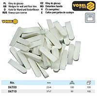 Клини для плитки VOREL : 37х7 мм, уп. 50 шт.  [100]
