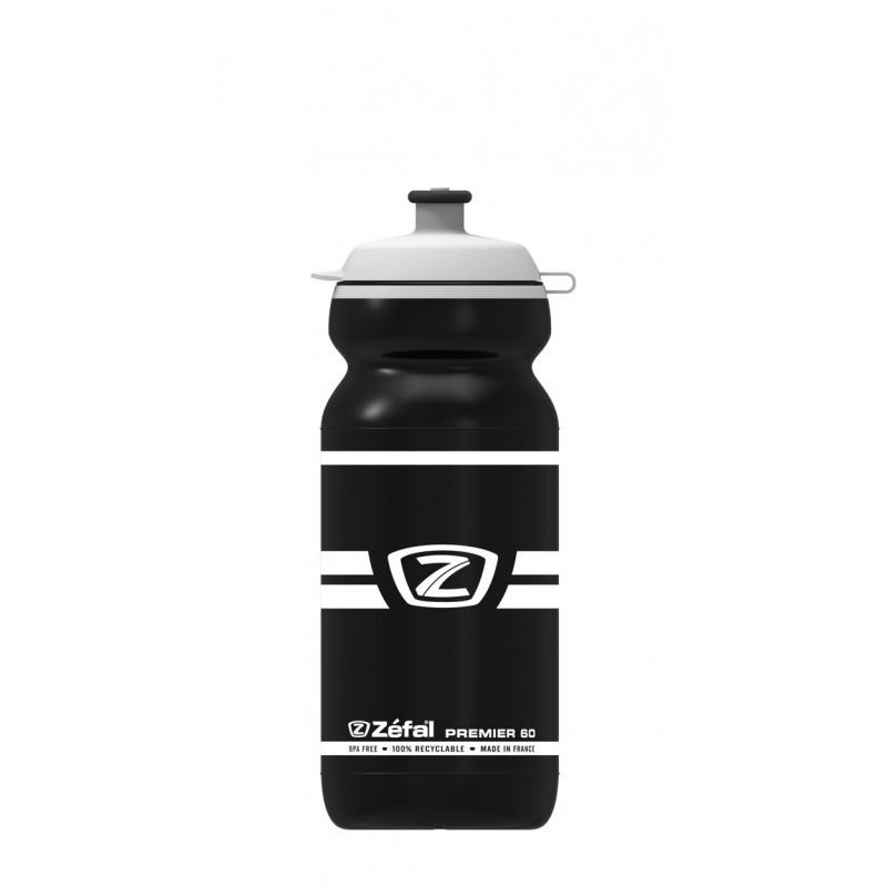 Фляга велосипедная Zefal Premier 60 черная пластиковая 600 мл