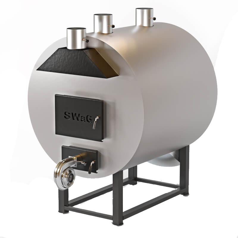 Теплогенератор твердотопливный Swag 80 кВт