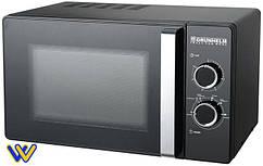 🆗 Микроволновая печь GRUNHELM 23MX88-LB (черная) 23л, 800 вт
