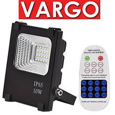 Автономний прожектор LED VARGO VS-319 10W з пультом, фото 2