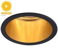 Врезной светильник Feron DL6003 (черный-золото)