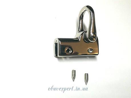 Ручкодержатель боковой  Никель, фото 2