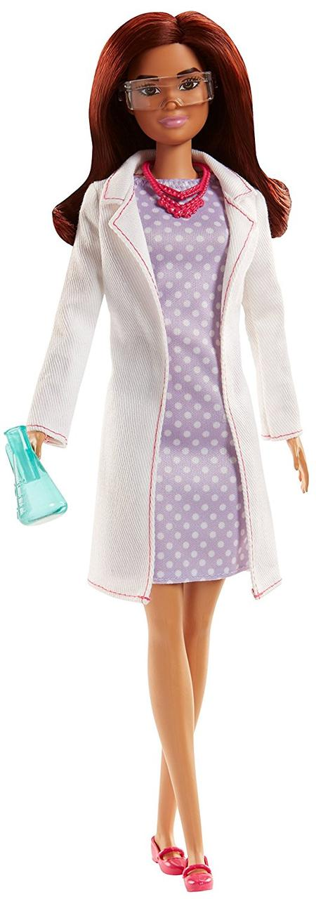 Кукла Barbie Careers Scientist Doll  (Барби - ученая)