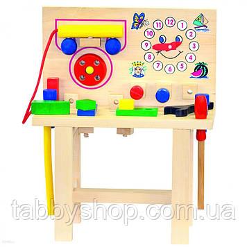 Стол для юного мастера BINO с часами