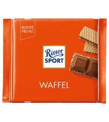 Шоколад Ritter Waffel с вафлей 100 г