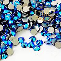 Стразы Swarovski, цвет Cobalt Shimmer, ss16 (4mm)*100шт