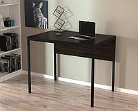 Письменный стол Loft-design L-2p mini, металл+дсп, фото 1