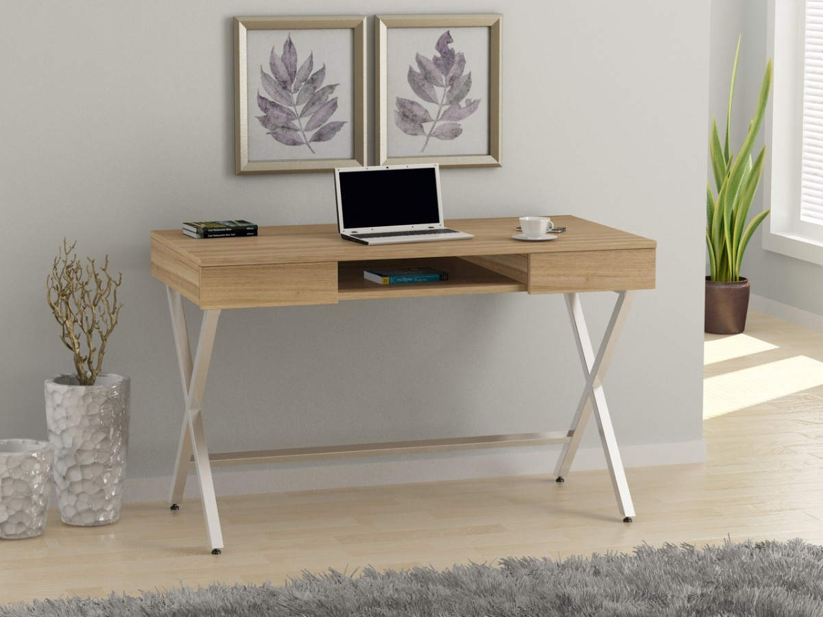 Универсальный стол Loft-design L-15 метал+дсп