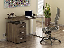 Письменный стол Loft-design L-27, металл+лдсп