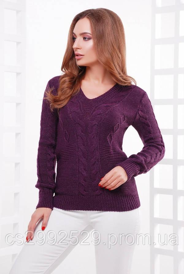 Джемпер 130 фиолетовый