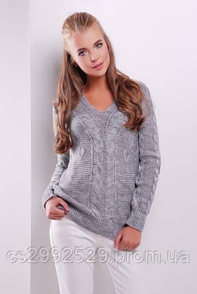 Джемпер 130 темно-серый, фото 2