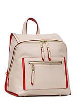 Стильный итальянский рюкзак из натуральной кожи в 3х цветах L-15933-83C-1, фото 1