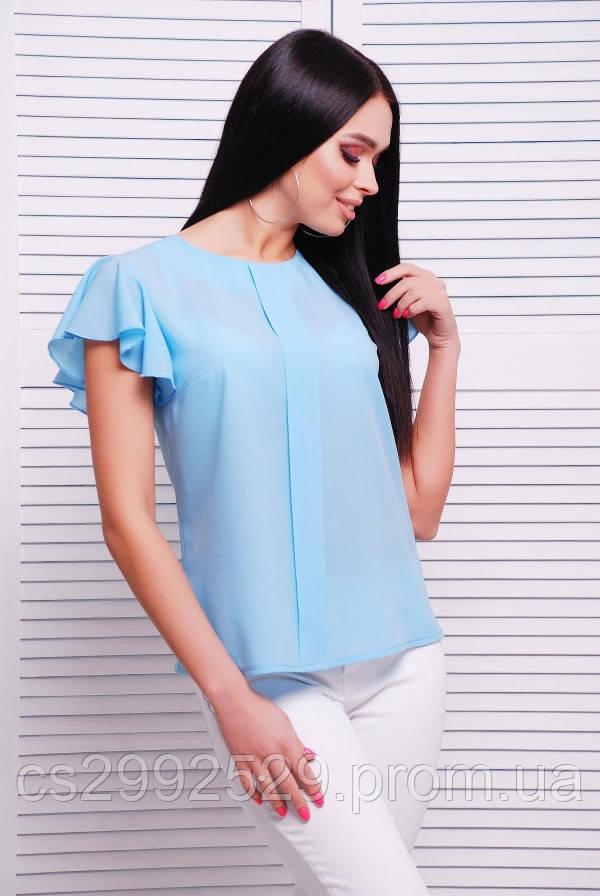 128183a875d Блуза 1727 голубой  продажа
