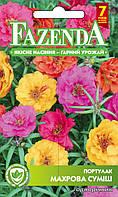 Семена цветов Портулак махровая смесь 0.3г, FAZENDA, O.L.KAR