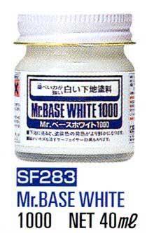 Mr. Base White 1000 40ml. MR.HOBBY SF283