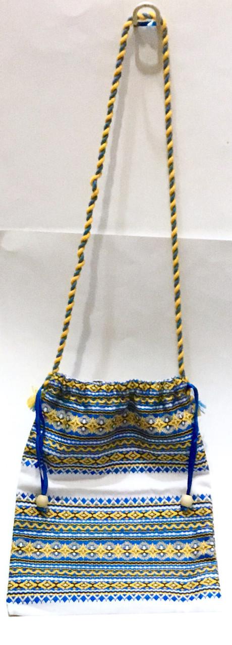 Чехол-сумочка тканевая вышиванка
