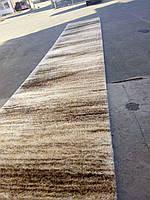 Ковёр коричневый на отрез Длиноворсный Шагги Турция ширина, фото 1