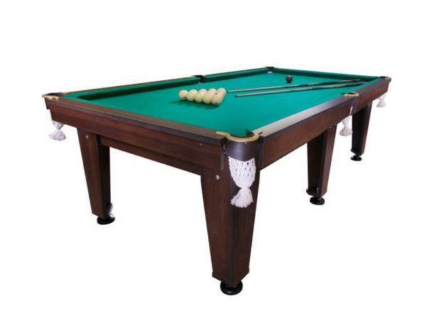 Більярдний стіл корнет 8 футів