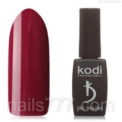 Гель лак Kodi  №40WN, красно-пурпурный, фото 2