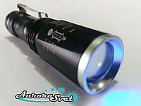 Ультрафиолетовый Фонарик UV 365NM. Для проверки подлинности купюр.