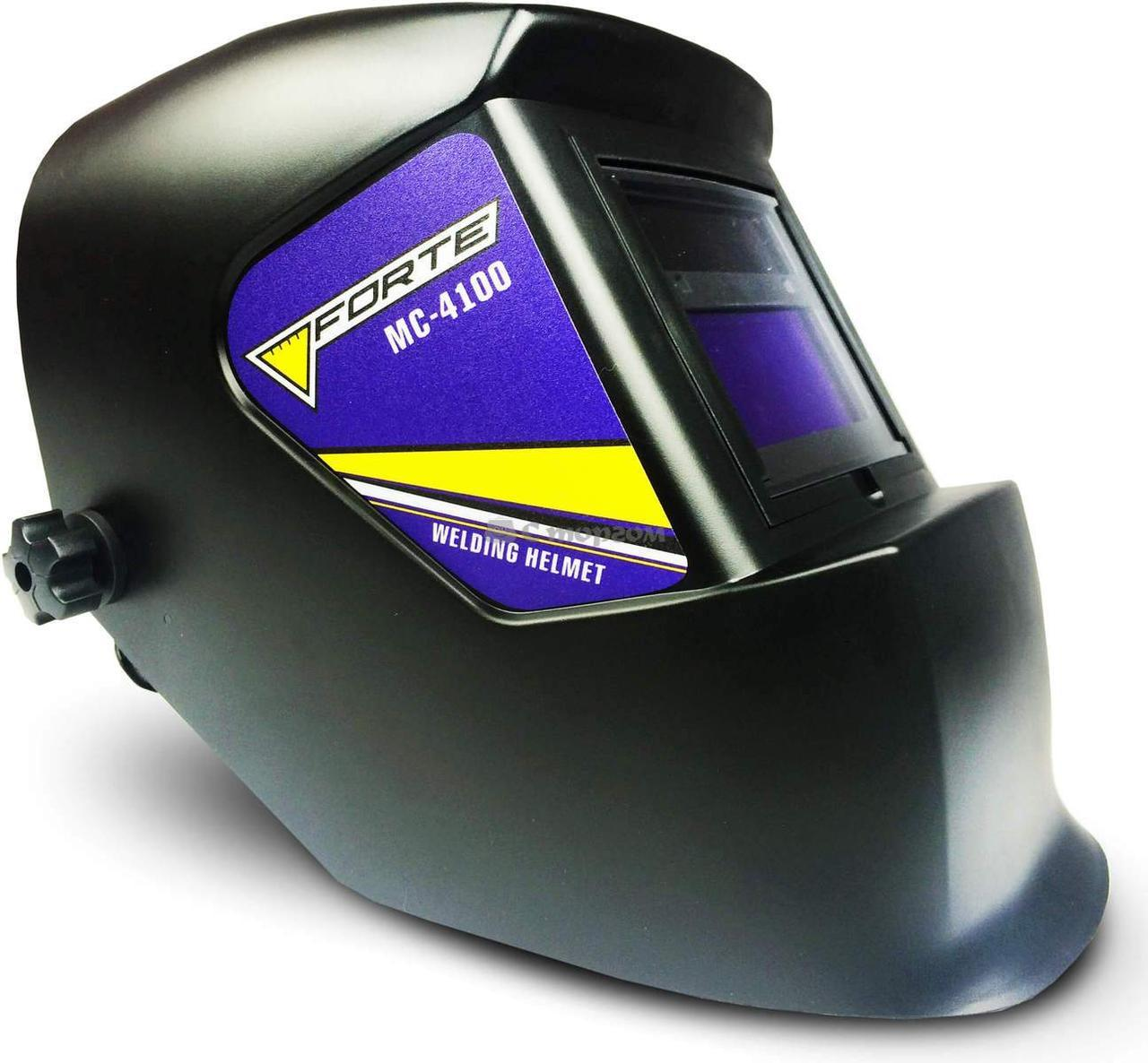 Зварювальна маска хамелеон FORTE MC-4100