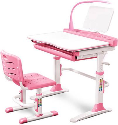 Комплект парта и стульчик Evo-kids Evo-19 (с лампой), фото 2