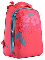 """Рюкзак школьный каркасный  «1 Вересня» """"Blossom"""" H-12 арт.556042"""