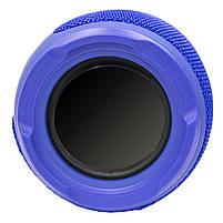 Блютуз колонка LZ Pulse P3 Blue для качественной музыки светомузыка функция Bluetooth, фото 6