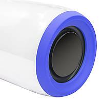 Блютуз колонка LZ Pulse P3 Blue для качественной музыки светомузыка функция Bluetooth, фото 7