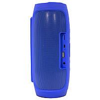 ✕Переносная колонка LZ Charge 4 Blue компактная акустика для дома музыки функция Bluetooth Power bank, фото 4
