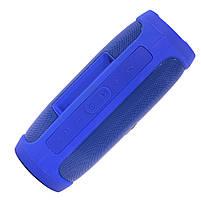 ✕Переносная колонка LZ Charge 4 Blue компактная акустика для дома музыки функция Bluetooth Power bank, фото 5