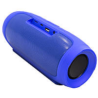 ✕Переносная колонка LZ Charge 4 Blue компактная акустика для дома музыки функция Bluetooth Power bank, фото 7