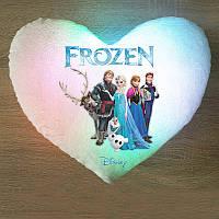 """Светящаяся подушка - """"Холодное сердце Frozen"""""""