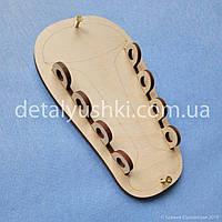 """Заготовка для Бизиборда """"кроссовок"""" + САМОРЕЗЫ, кед для шнуровки,  комплектующие для бизиборда, biziboard"""