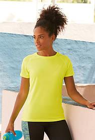 Спортивна жіноча футболка 61-392-0