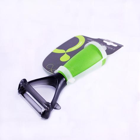 Нож для чистки овощей, 14 см, зеленый, фото 2