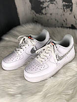 Женские кроссовки Nike Air Force 1 '07 LV8 LNTC 'Just Do It Pack'  White, фото 2