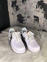 Женские кроссовки Nike Air Force 1 '07 LV8 LNTC 'Just Do It Pack'  White, фото 3