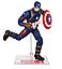Фигурка Капитан Америка на подставке, Мстители, 18 см - Captain America, Avengers, Marvel, фото 3