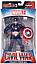 Фигурка Капитан Америка на подставке, Мстители, 18 см - Captain America, Avengers, Marvel, фото 2