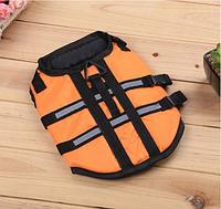 Спасательный жилет для собак оранжевый