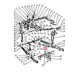 Стяжка задней навески (в сборе) МТЗ (Украина); А61.04.000 , фото 3
