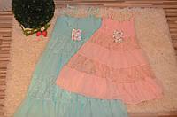 Летнее  платье для девочек 6-16 лет