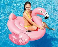 Надувной плот для взрослых Intex 56288 Фламинго, 218 х 211 х 136 см.